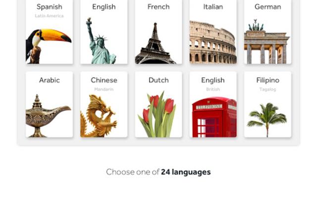 Rosetta Stone: Learn Languages screenshot 14