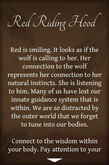 Fairy Tales Oracle Cards screenshot 3