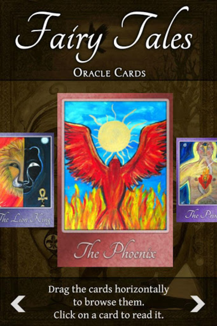 Fairy Tales Oracle Cards screenshot 4