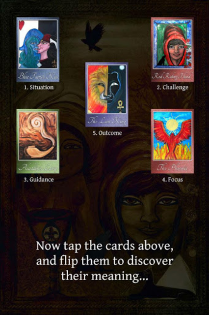 Fairy Tales Oracle Cards screenshot 5
