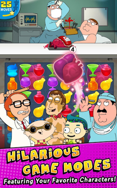 Family Guy- Another Freakin' Mobile Game screenshot 2
