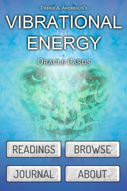 Vibrational Energy Oracle Deck screenshot 1