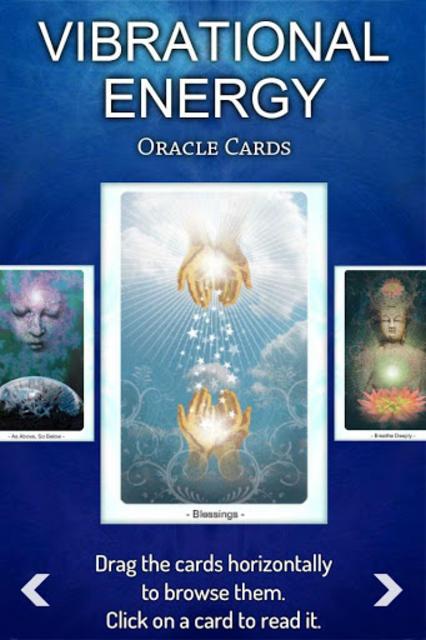 Vibrational Energy Oracle Deck screenshot 4