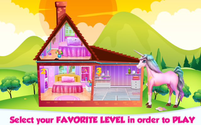 Unicorn Room Decoration screenshot 2