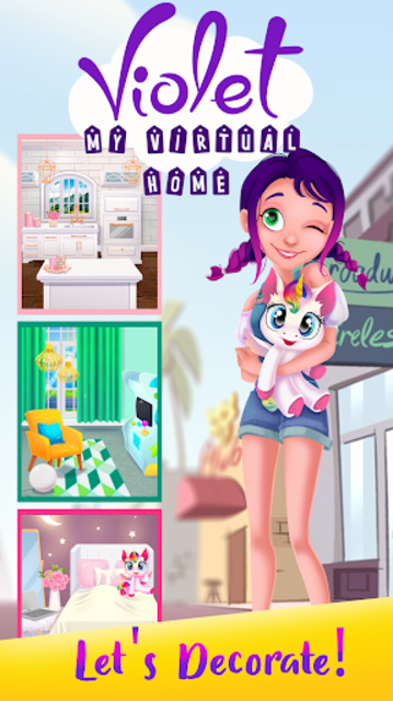 Violet the Doll - My Virtual Home screenshot 3