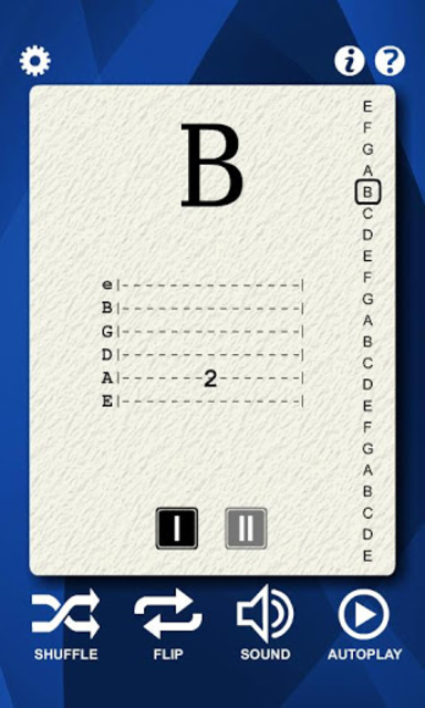 Guitar Notes Flash Cards screenshot 3