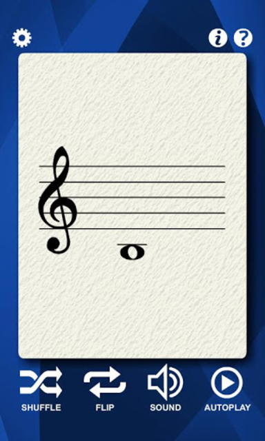Guitar Notes Flash Cards screenshot 1