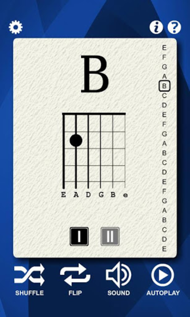 Guitar Notes Flash Cards screenshot 2
