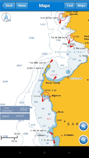 Marine Navigation Lite screenshot 4