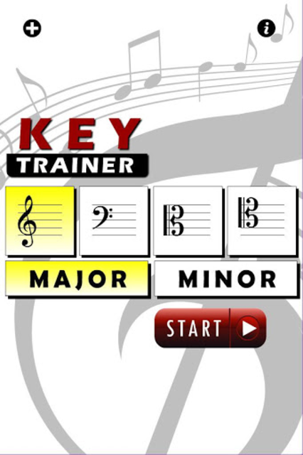 Note And Key Signature Trainer screenshot 4