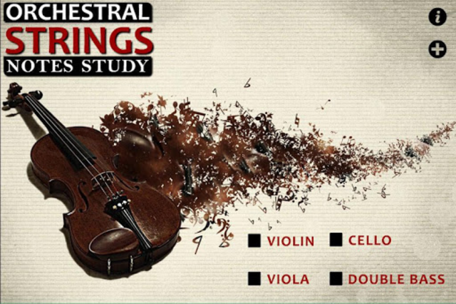 Orchestral String Notes Study screenshot 2