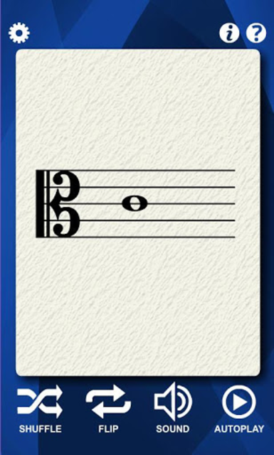 Viola Notes Flash Cards screenshot 2