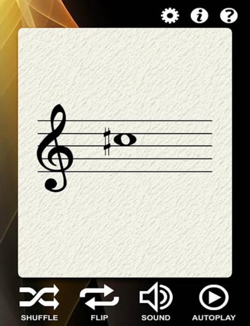 Violin Notes Flash Cards screenshot 1