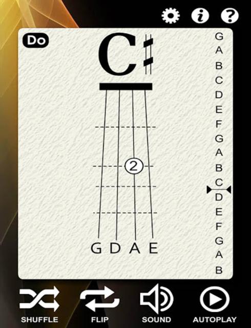 Violin Notes Flash Cards screenshot 2