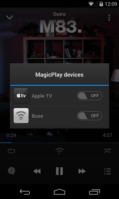 MagicPlay: AirPlay for Android screenshot 1