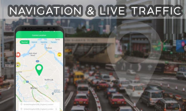 GPS Directions Finder : Maps Traffic & Travel screenshot 1