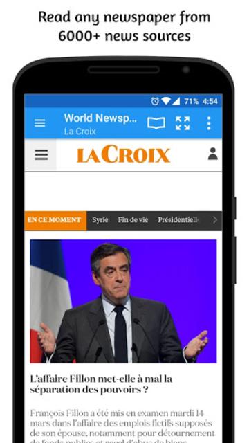 World Newspapers screenshot 2