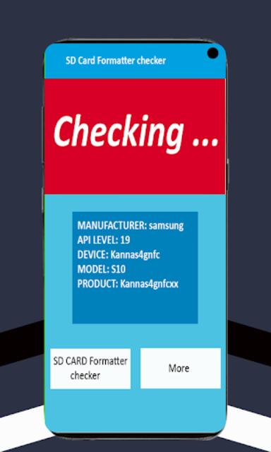 SD Card Formatter checker screenshot 3