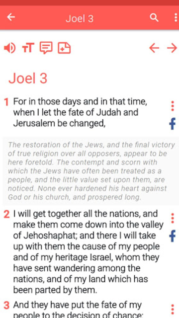 Amplified Bible offline screenshot 32