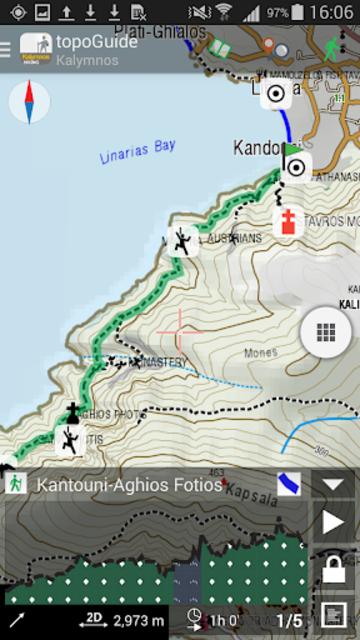 Kalymnos Hiking screenshot 5