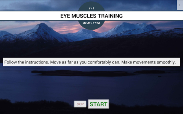 Eye exercises PRO screenshot 10