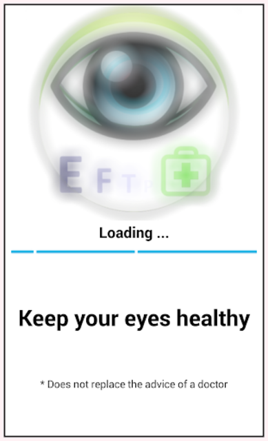 Eye exam PRO screenshot 1