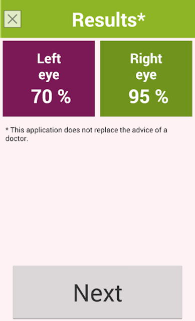 Eye exam PRO screenshot 6