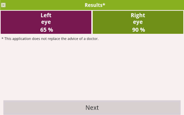Eye exam PRO screenshot 13