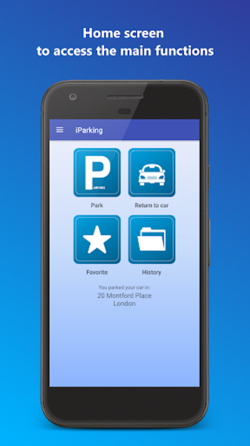 iParking - Find my car screenshot 1