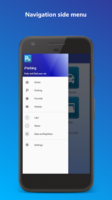 iParking - Find my car screenshot 2