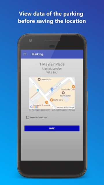 iParking - Find my car screenshot 4