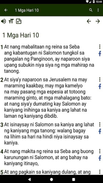 Bible in Tagalog screenshot 30