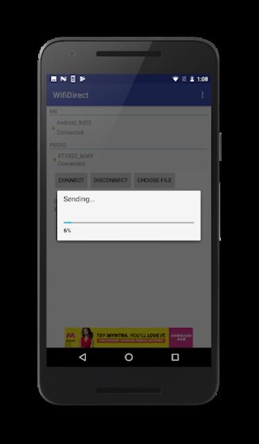 WiFiDirect screenshot 2