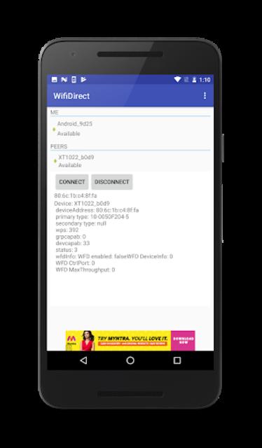 WiFiDirect screenshot 3