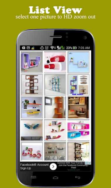 Wall Shelf Decorating Ideas screenshot 1