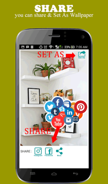 Wall Shelf Decorating Ideas screenshot 4