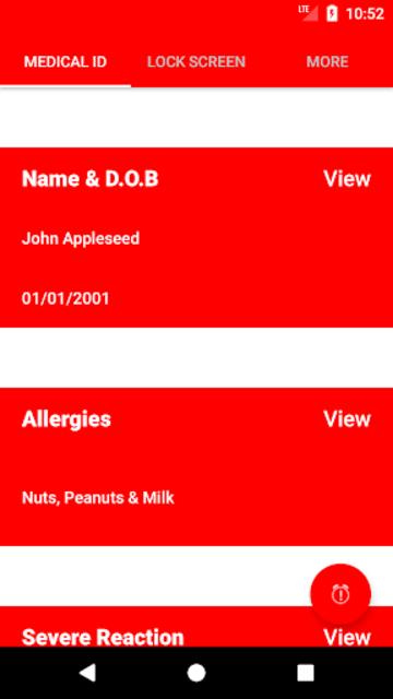AllergyMe screenshot 1