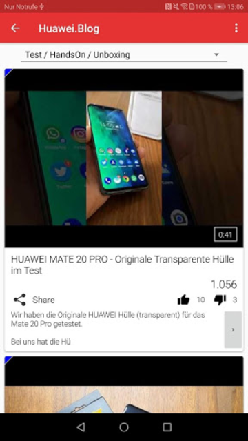 HUAWEI.blog + screenshot 5