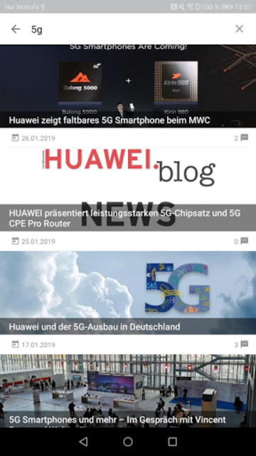 HUAWEI.blog + screenshot 6