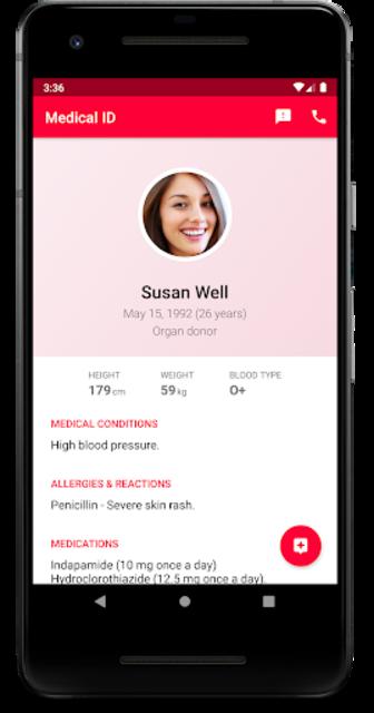 Medical ID - In Case of Emergency (ICE) screenshot 4