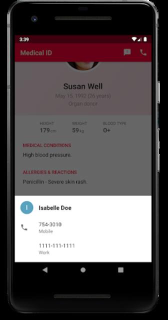 Medical ID - In Case of Emergency (ICE) screenshot 5