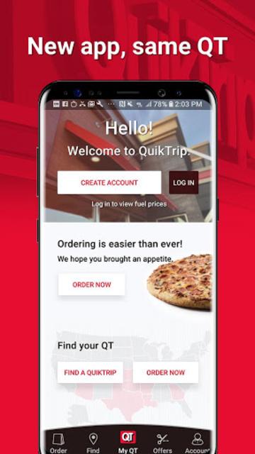 QuikTrip: Food, Coupons, & Fuel screenshot 1