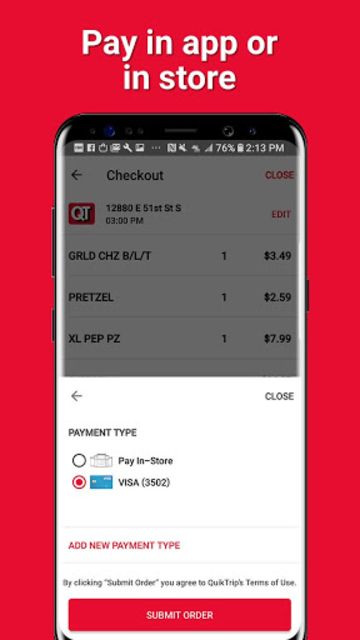 QuikTrip: Food, Coupons, & Fuel screenshot 6