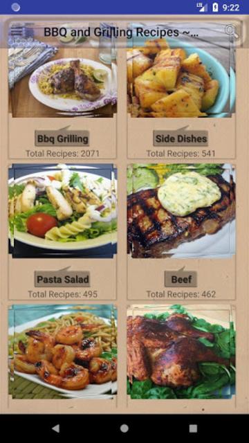 BBQ & Grilling Recipes ~ My nice recipes screenshot 1