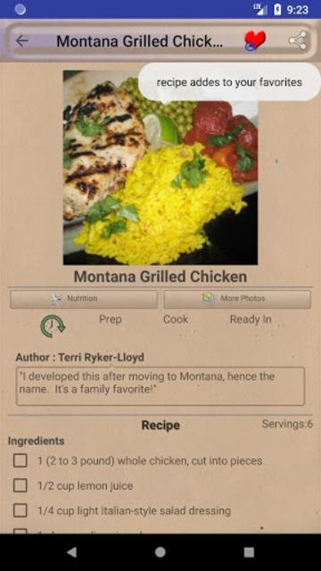 BBQ & Grilling Recipes ~ My nice recipes screenshot 3