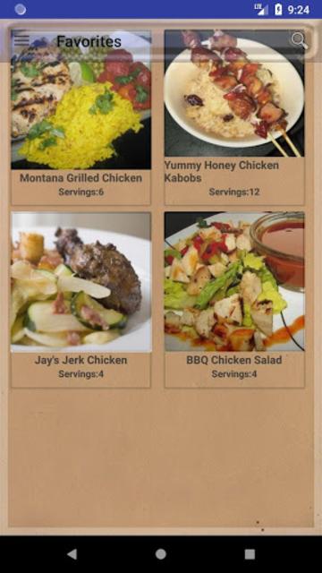 BBQ & Grilling Recipes ~ My nice recipes screenshot 7