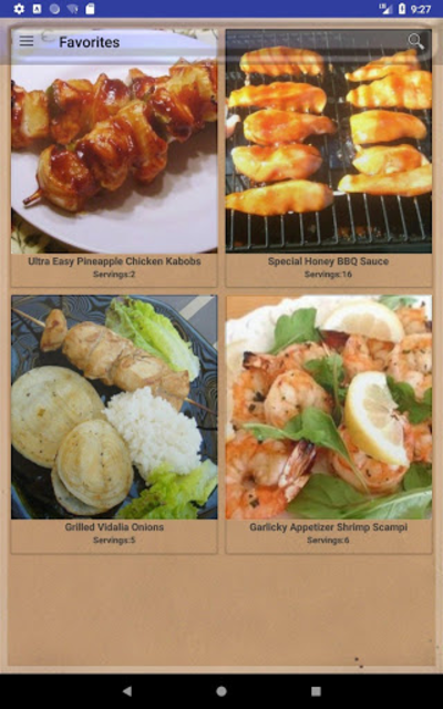 BBQ & Grilling Recipes ~ My nice recipes screenshot 15