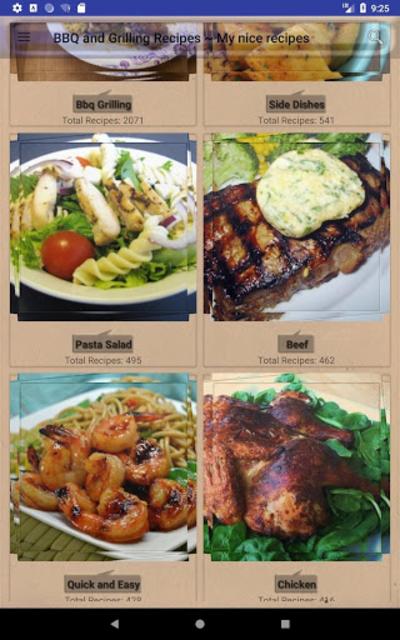 BBQ & Grilling Recipes ~ My nice recipes screenshot 17
