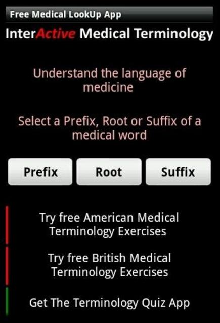 Learn Medical Terminology screenshot 2