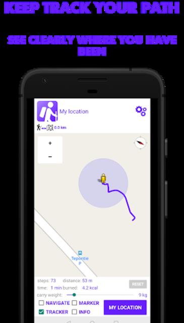 Hike Tracker - Hiking App with GPS navigation screenshot 2